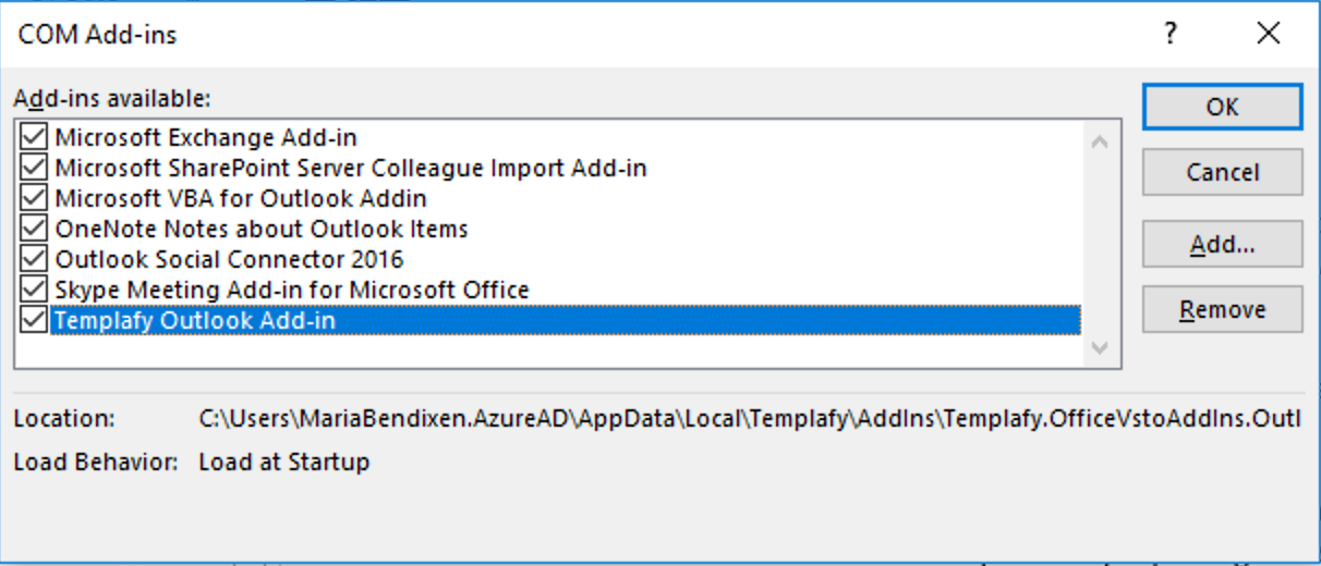 Troubleshooting: Addins are missing in Office – Help Center