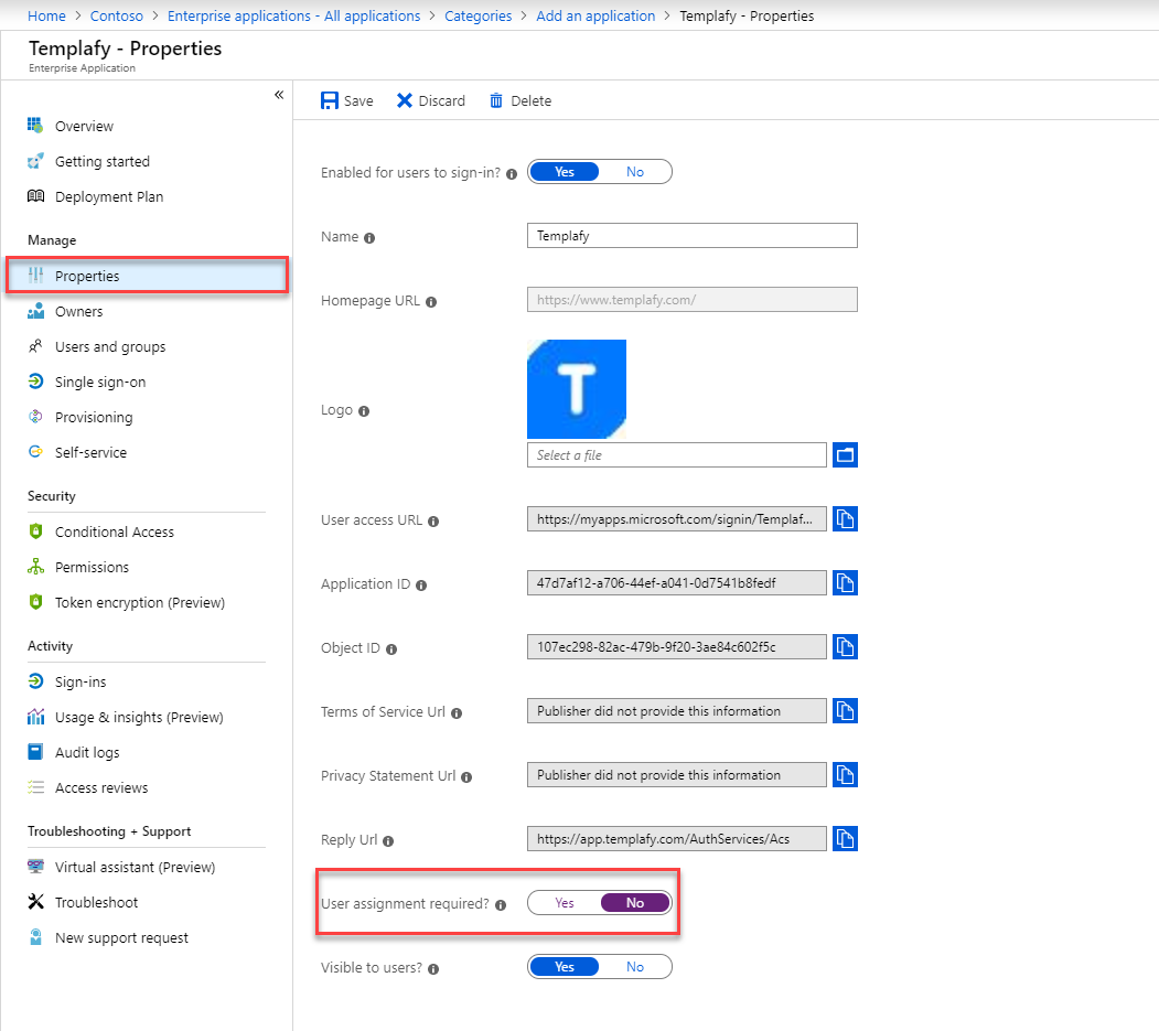 How to setup SSO with Azure AD (Custom setup) – Help Center